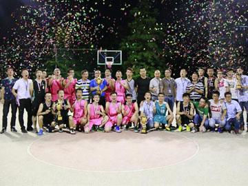 2016年第一届竞技宝官网杯篮球赛圆满收官